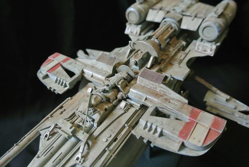 STAR WARS dornean gunship rogue one version Dsc_0513