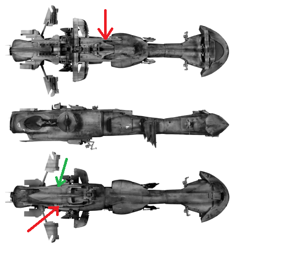 STAR WARS dornean gunship rogue one version Rj_bgs10