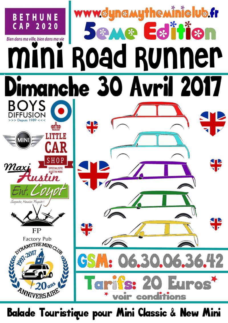 [Dimanche 30 Avril 2017] 5eme Edition du Mini Road Runner Affich11