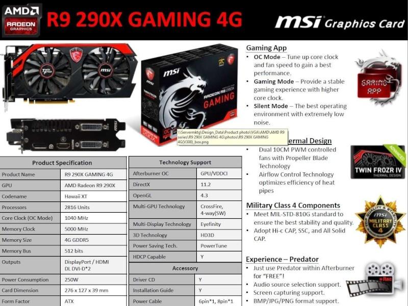FS- MSI R9 290X 4GB Gaming 290x1010