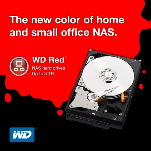 FS- WD Red NAS 1TB 64MB SATA 6 Gb/s 5400RPM Wd_red10