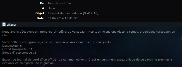 Qui dit mieux ?      EXPEDITIONS:      Concours permanent - Page 7 Record10
