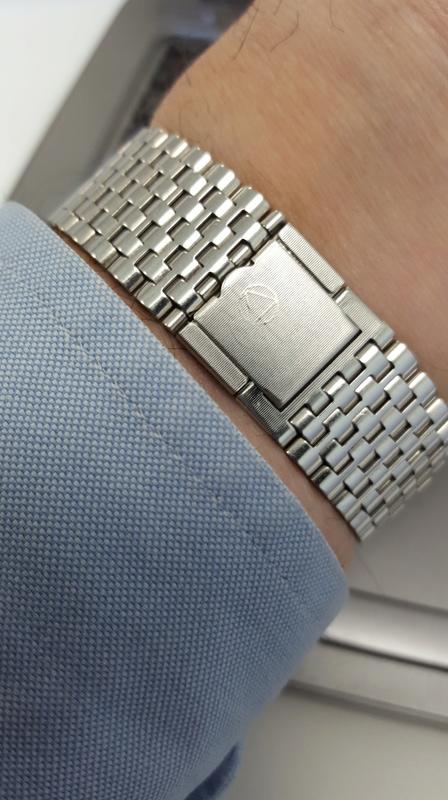 Porter une montre sur bracelet acier par grosse chaleur 20170510