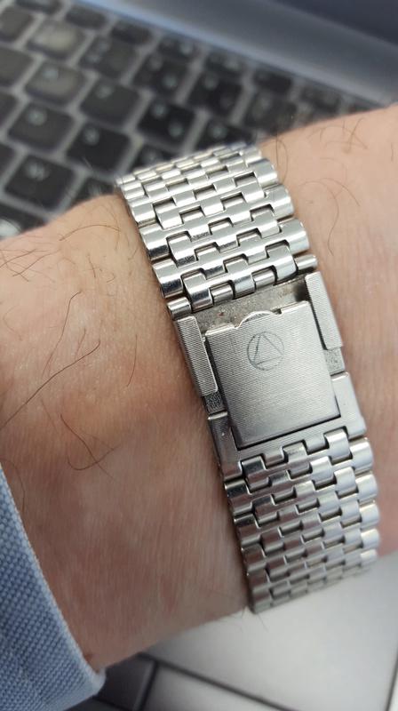 Porter une montre sur bracelet acier par grosse chaleur 20170511
