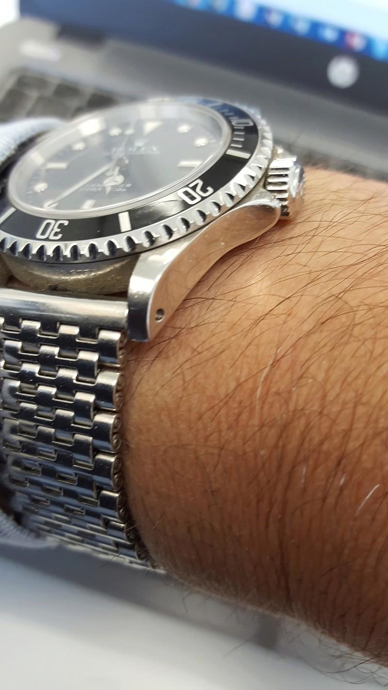 Porter une montre sur bracelet acier par grosse chaleur 20170512