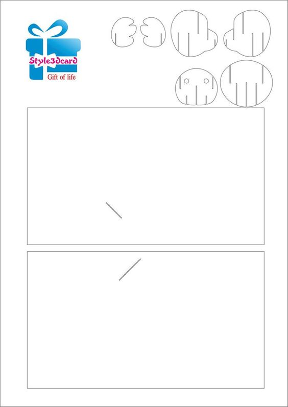 kirigami winnie l'ourson - Page 2 Kiriga11
