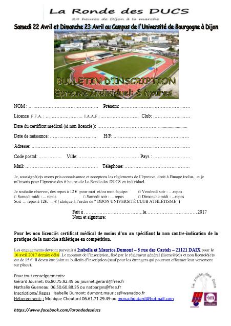 """Dijon, 22-23 avril 2017, 24h """"La Ronde des Ducs"""" 16998010"""