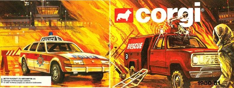 Corgi - Catalogo 1980-81 - versione tedesca 0-2310