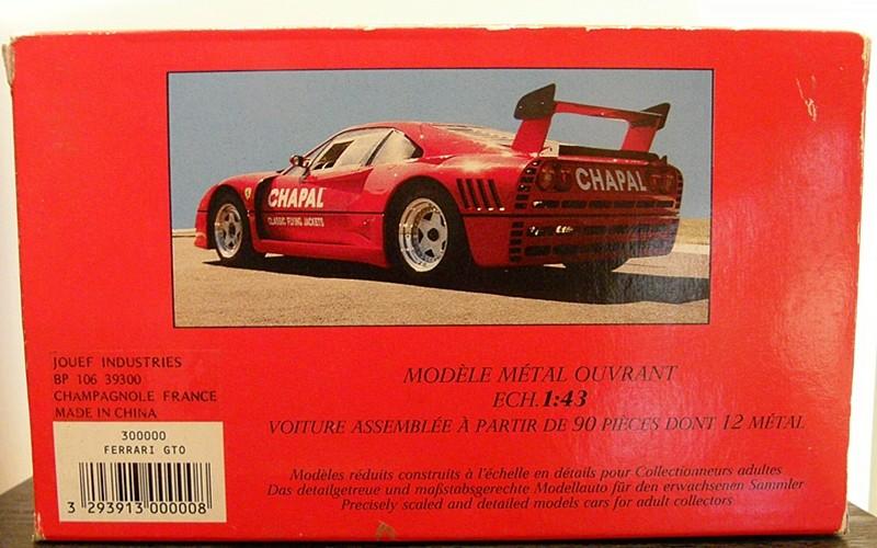 SERIE 3000 - Ferrari GTO Evoluzione 00210