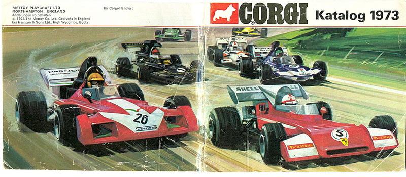 Corgi - Catalogo 1973 - versione tedesca 012
