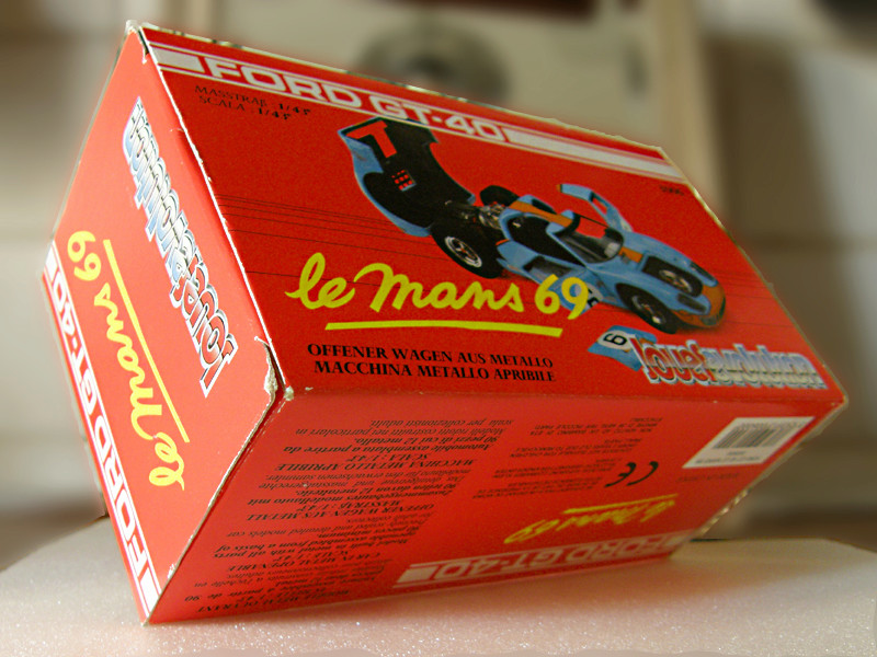 SERIE 3000 - Ford GT40 1-43_f14