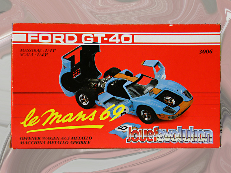 SERIE 3000 - Ford GT40 1-43_f15