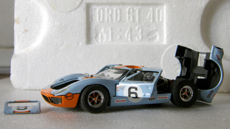 SERIE 3000 - Ford GT40 1-43_f22