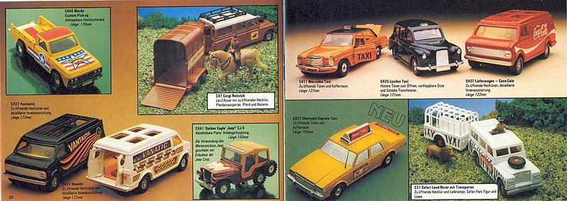 Corgi - Catalogo 1980-81 - versione tedesca 1018