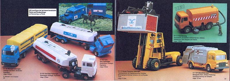 Corgi - Catalogo 1980-81 - versione tedesca 1118