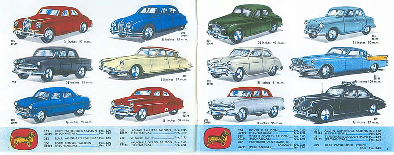 Corgi Toys - Catalogo 1958 115
