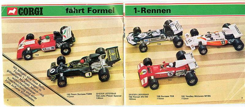 Corgi - Catalogo 1973 - versione tedesca 118