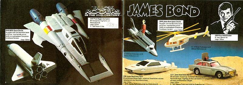 Corgi - Catalogo 1980-81 - versione tedesca 119