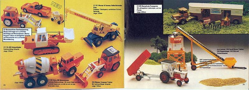 Corgi - Catalogo 1980-81 - versione tedesca 1219