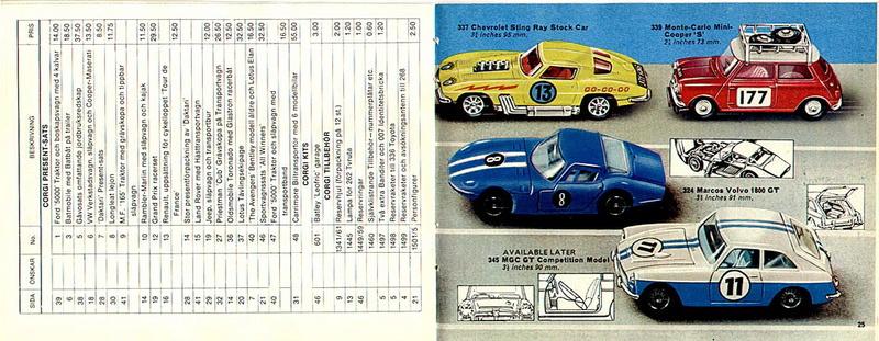 Corgi Toys - Catalogo 1969 1314