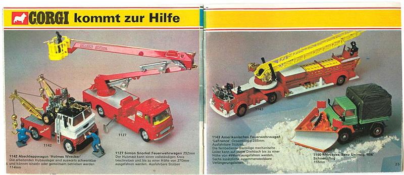 Corgi - Catalogo 1973 - versione tedesca 1316