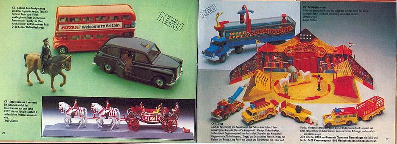 Corgi - Catalogo 1980-81 - versione tedesca 1317
