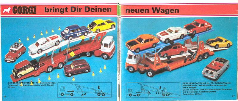 Corgi - Catalogo 1973 - versione tedesca 1415