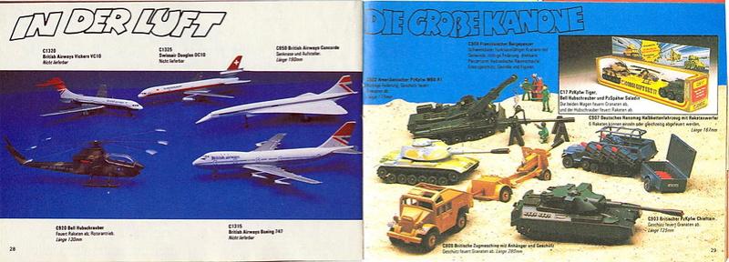 Corgi - Catalogo 1980-81 - versione tedesca 1416