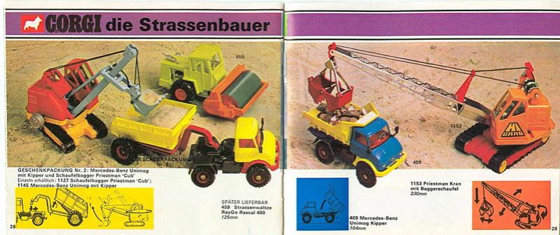 Corgi - Catalogo 1973 - versione tedesca 1515