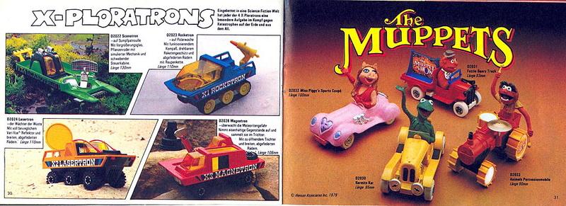 Corgi - Catalogo 1980-81 - versione tedesca 1516