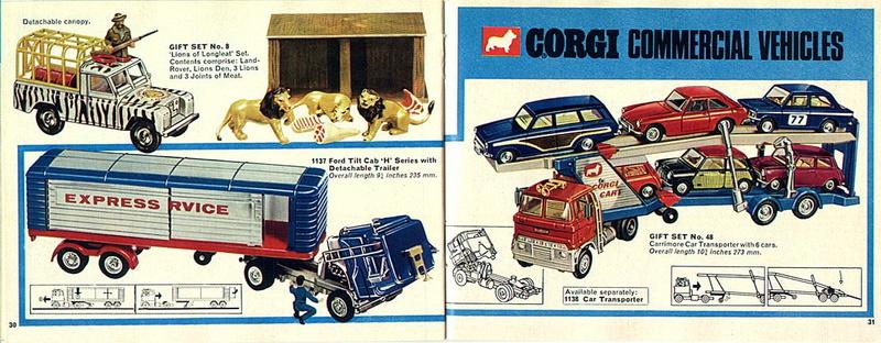 Corgi Toys - Catalogo 1969 1614