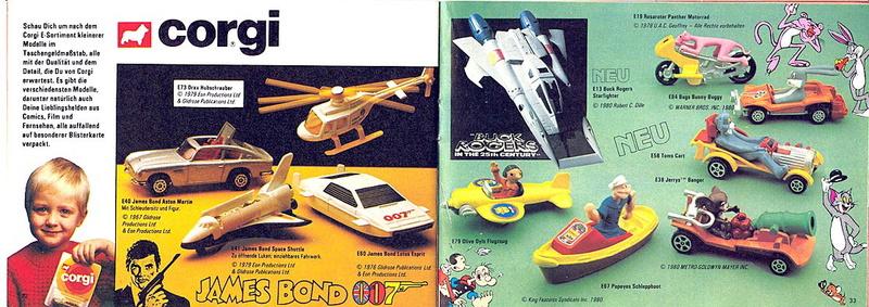 Corgi - Catalogo 1980-81 - versione tedesca 1617