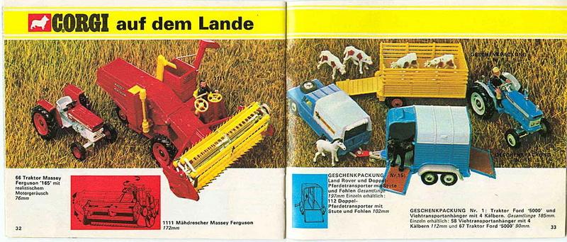 Corgi - Catalogo 1973 - versione tedesca 1715