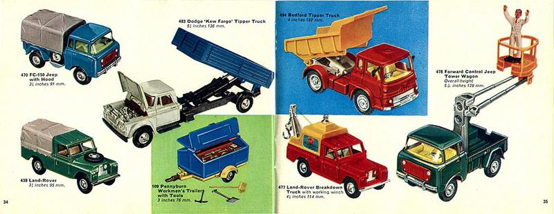 Corgi Toys - Catalogo 1969 1813