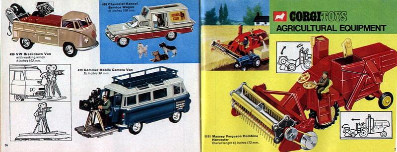 Corgi Toys - Catalogo 1969 1913