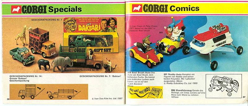 Corgi - Catalogo 1973 - versione tedesca 1915