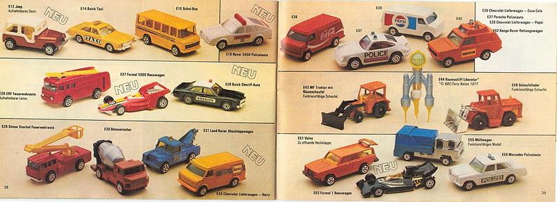 Corgi - Catalogo 1980-81 - versione tedesca 1916