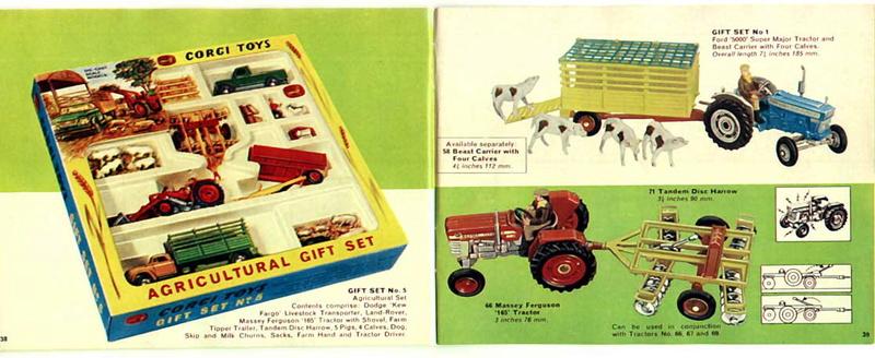 Corgi Toys - Catalogo 1969 2013