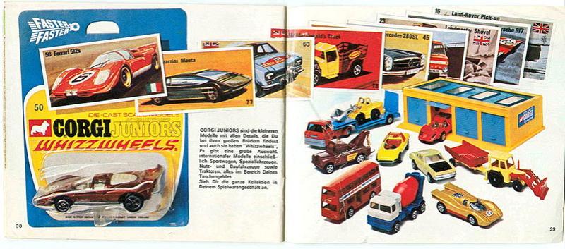 Corgi - Catalogo 1973 - versione tedesca 2015