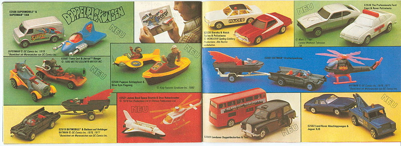 Corgi - Catalogo 1980-81 - versione tedesca 2115