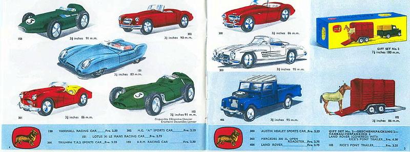 Corgi Toys - Catalogo 1958 216