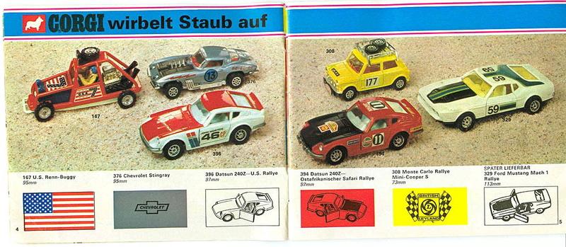Corgi - Catalogo 1973 - versione tedesca 219