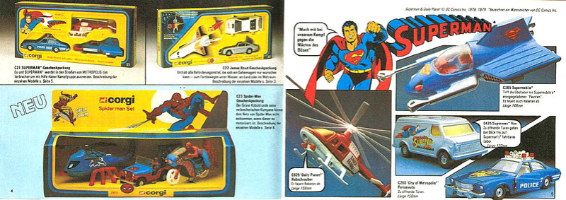 Corgi - Catalogo 1980-81 - versione tedesca 220
