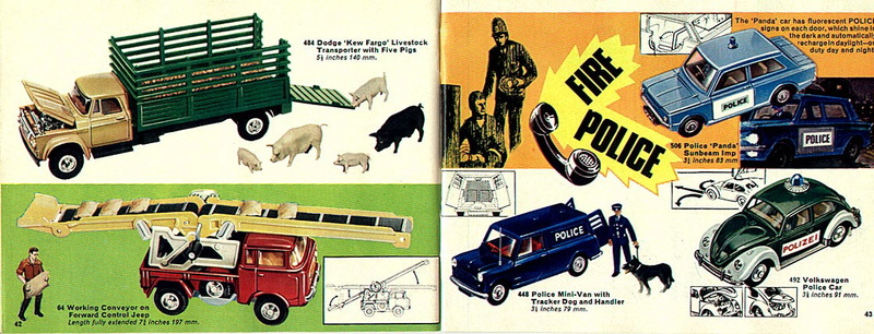 Corgi Toys - Catalogo 1969 2212
