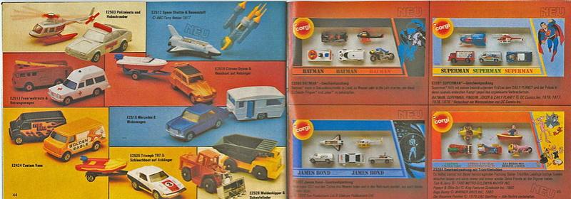 Corgi - Catalogo 1980-81 - versione tedesca 2214