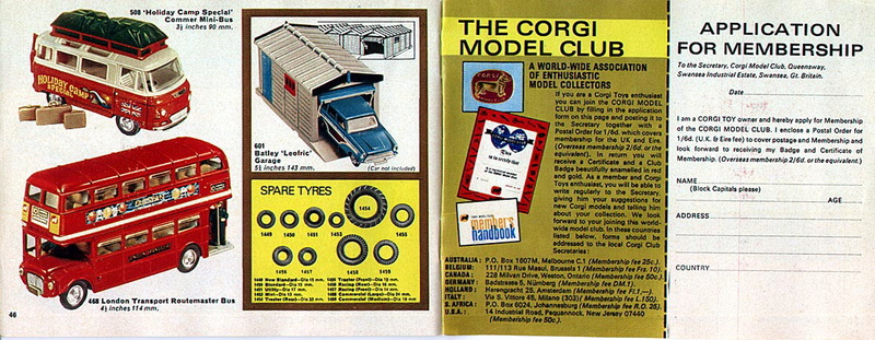 Corgi Toys - Catalogo 1969 2412