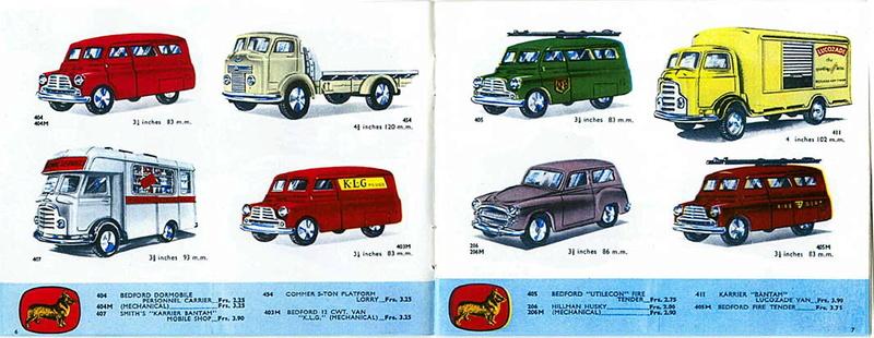 Corgi Toys - Catalogo 1958 316