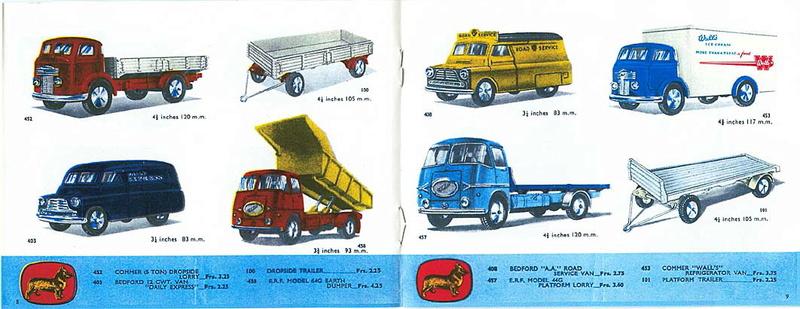 Corgi Toys - Catalogo 1958 416