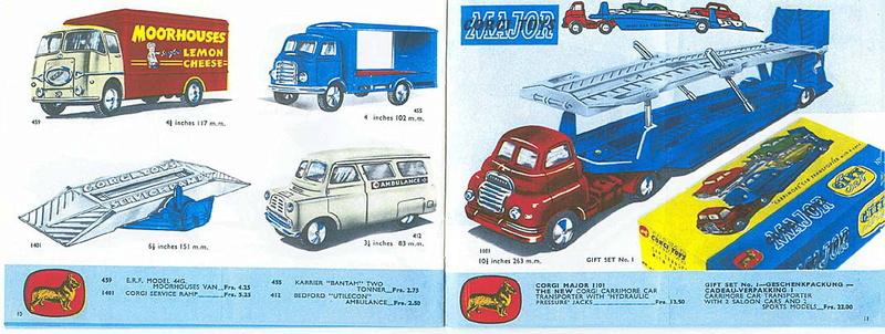 Corgi Toys - Catalogo 1958 515