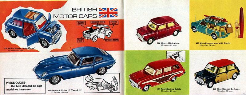Corgi Toys - Catalogo 1969 516